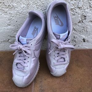Pink on pink Nike Cortez sneakers 👟